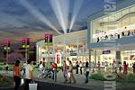 Shopping Mall Rendering