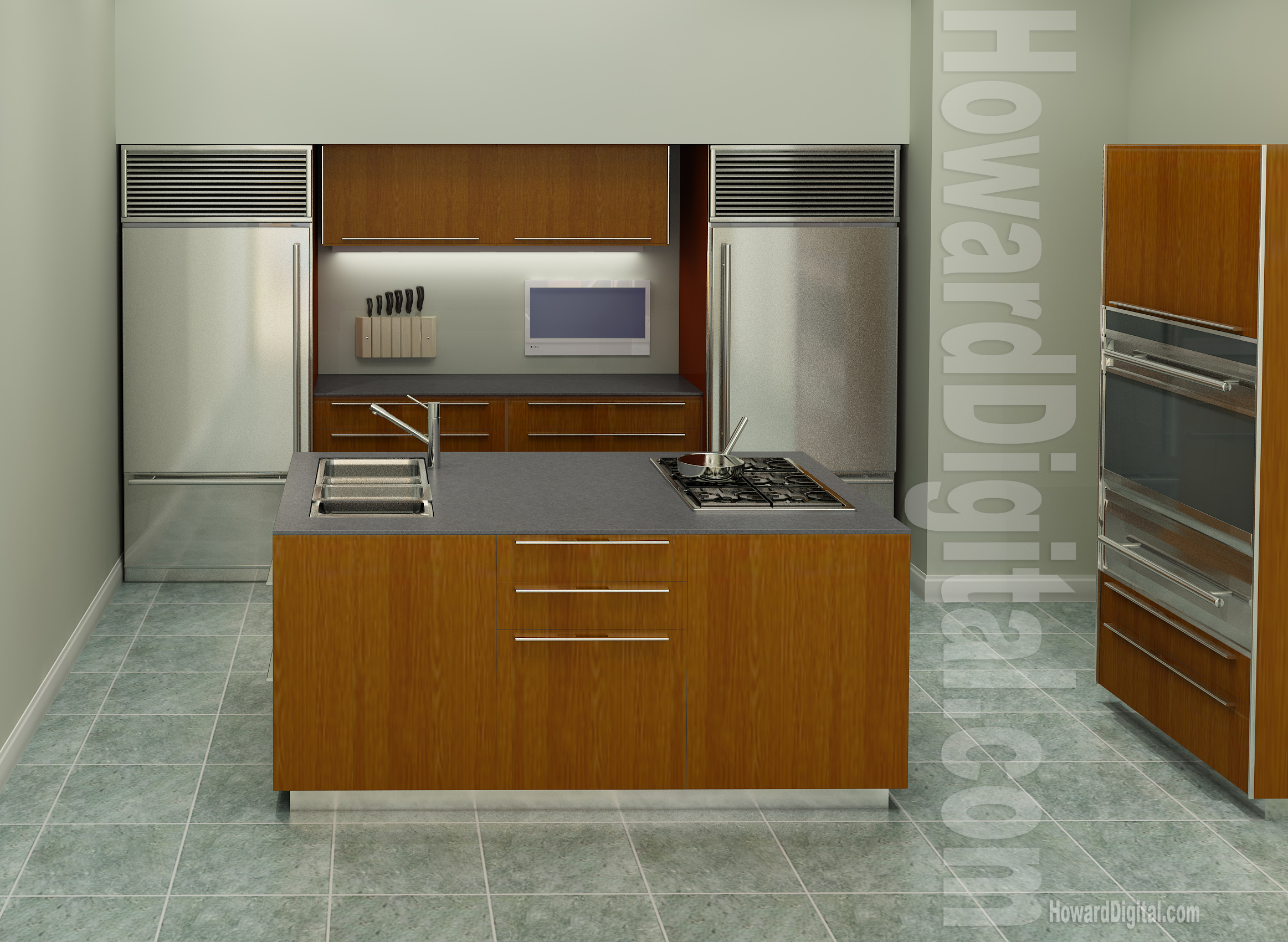 Kitchen interior howard digital - Interior design kitchen ...