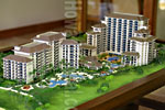 Hawaii Beach Villas Architectural Scale Model