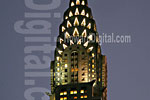 The Chrysler Building Lights